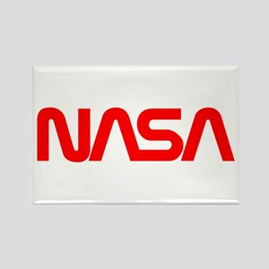 NASA Spider Logo Rectangle Magnet