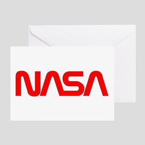 NASA Spider Logo Greeting Card