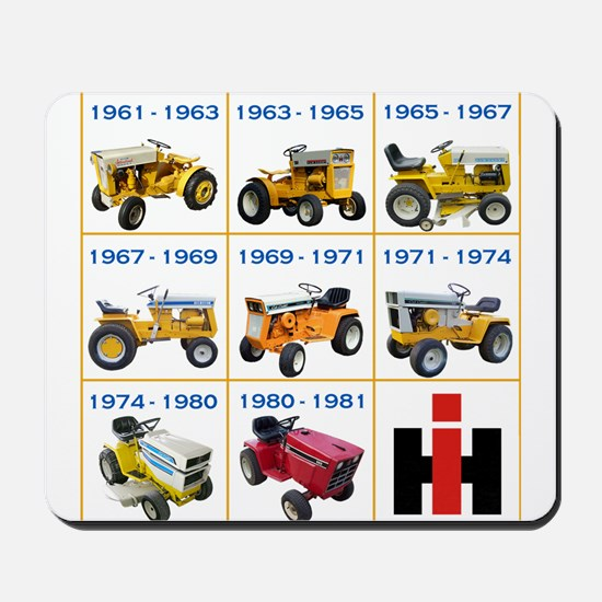 Lineage of IH Cub Cadet Mousepad