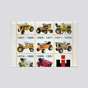 Lineage of IH Cub Cadet Rectangle Magnet