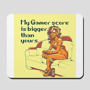 Gamer Girl Mousepad
