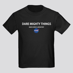 Dare Mighty Things Kids Dark T-Shirt