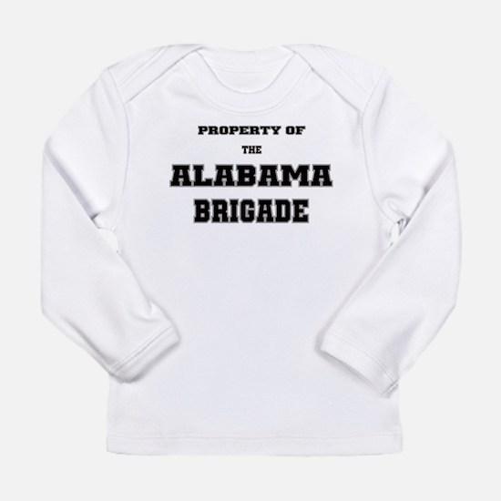 Property of the Alabama Brigade Long Sleeve Infant