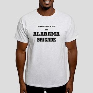 Property of the Alabama Brigade Light T-Shirt