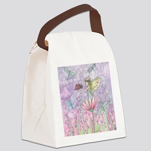 A Friendly Encounter Fairy and La Canvas Lunch Bag
