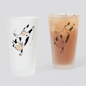 Mooviestars - Breakdancing Cow Drinking Glass