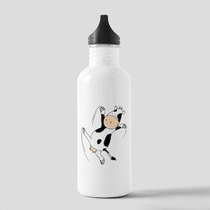 Mooviestars - Dancing Cow Stainless Water Bottle 1