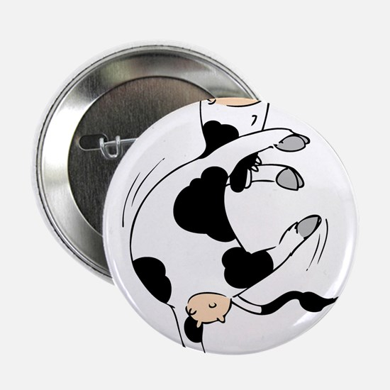 "Mooviestars - Ballet Cow 2.25"" Button"