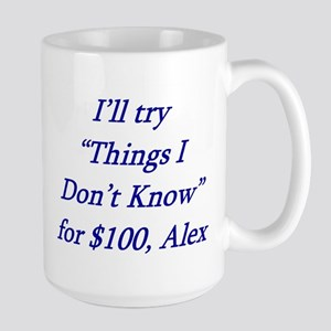 Things I dont know Large Mug