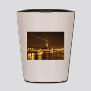 Eiffel Tower Poster Shot Glass