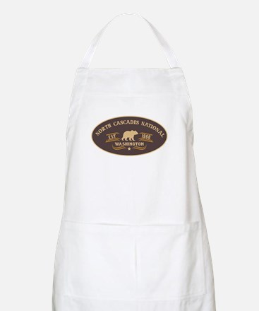 North Cascades Belt Buckle Badge Apron