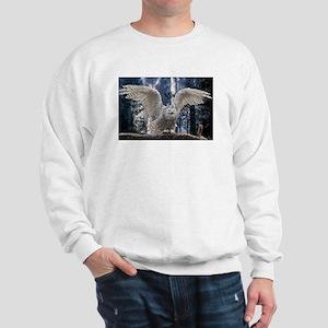 Woody Snow Owl Sweatshirt