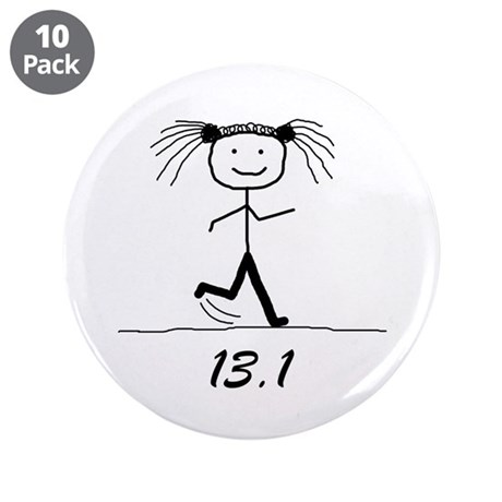 "13.1 BLK 3.5"" Button (10 pack)"