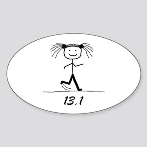 13.1 BLK Sticker (Oval)