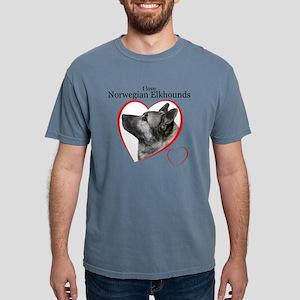 ElkhoundLove1 Mens Comfort Colors Shirt
