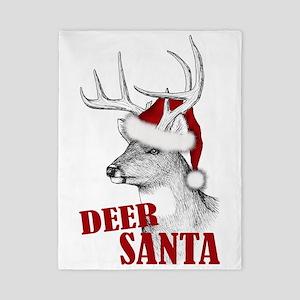 Deer Santa Twin Duvet