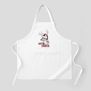 Deer Santa Apron