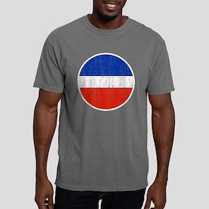 Yugoslavia Roundel Aged. Mens Comfort Colors Shirt