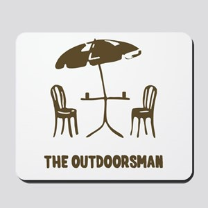 The Outdoorsman Mousepad