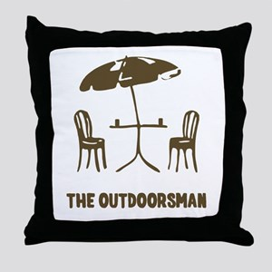The Outdoorsman Throw Pillow