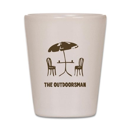 The Outdoorsman Shot Glass
