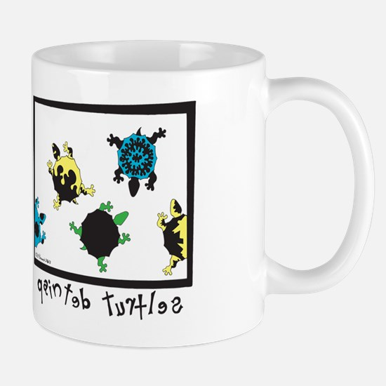 Painted Turtles Mug