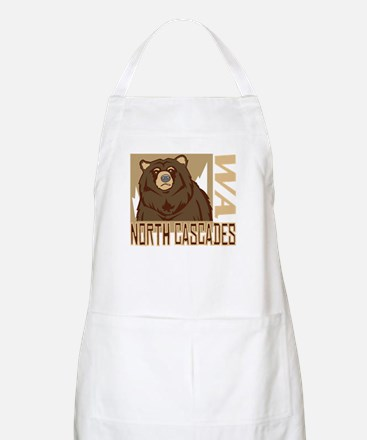 North Cascades Grumpy Grizzly Apron