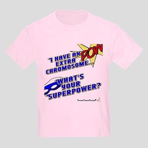 Extra Super Power Kids Light Kids Light T-Shirt