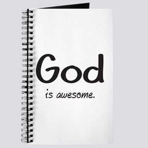 GOD is awesome Journal