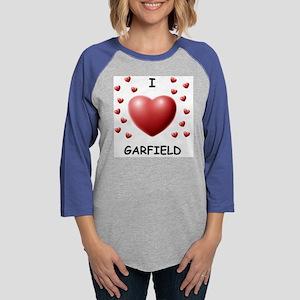 STYLE002M-GARFIELD Womens Baseball Tee