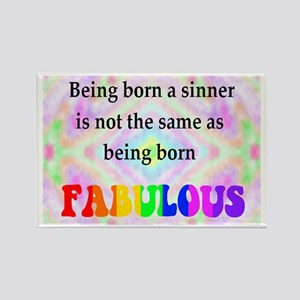 Not The Same As Being Born FABULOUS Rectangle Magn