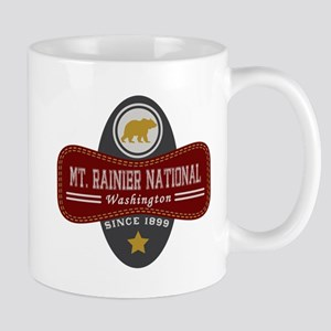 Mt. Rainier Natural Marquis Mug
