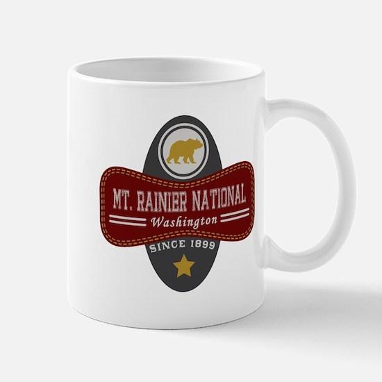 Mt. Rainier Natural Marquis Mug