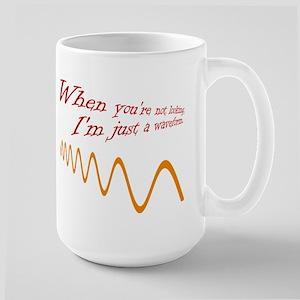 Just a Waveform Large Mug