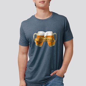Cheers! Enjoy A Drink. Mens Tri-blend T-Shirt