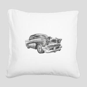 Vintage Chevy Square Canvas Pillow