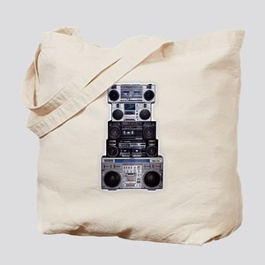 Old School Boomboxes Tote Bag