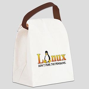 Linux Canvas Lunch Bag