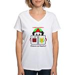 Geek Women's V-Neck T-Shirt