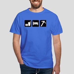 Eat Sleep Go Rockhounding Dark T-Shirt
