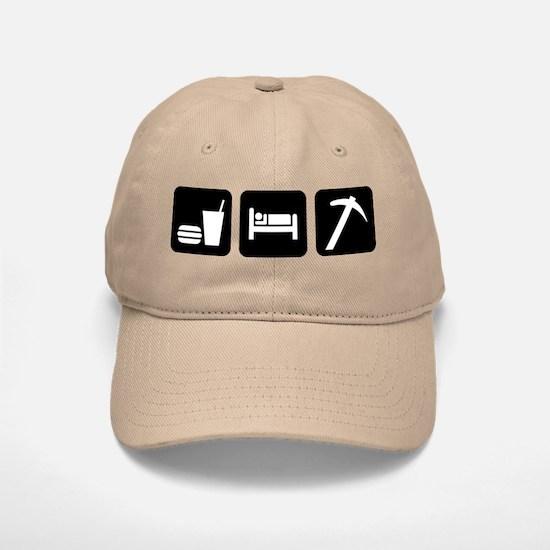 Eat Sleep Go Rockhounding Baseball Baseball Cap