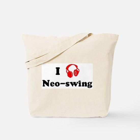 Neo-swing music Tote Bag
