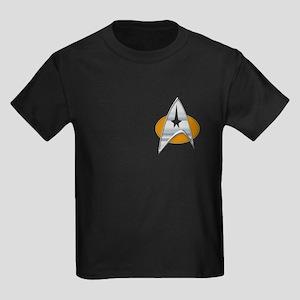 StarTrek Command Signia Chest 03 Kids Dark T-Shirt