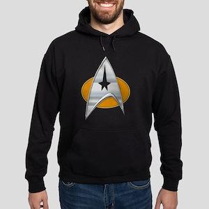 StarTrek Command Signia Chest 03 Hoodie (dark)