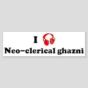 Neo-clerical ghazni music Bumper Sticker