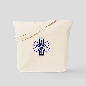 Trauma Junkies Star of Life Tote Bag