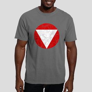 Austria Roundel Cracked. Mens Comfort Colors Shirt