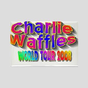 charlie waffles Rectangle Magnet