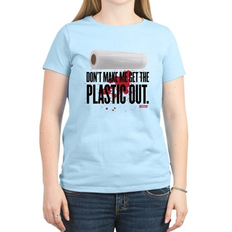 Get The Plastic Out Women's Light T-Shirt