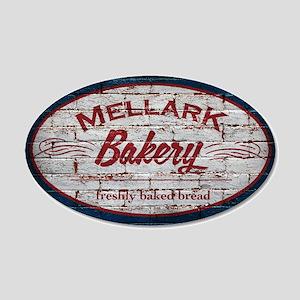 Mellark Bakery 20x12 Oval Wall Decal